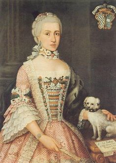 Image result for portraits women with their dogs 18th century