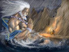 humbled ocean by rama