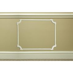 Focal Point System D with Large Decorative Corners 7/8 in. x 31 in. x 31 in. Primed Polyurethane Panel Moulding Kit