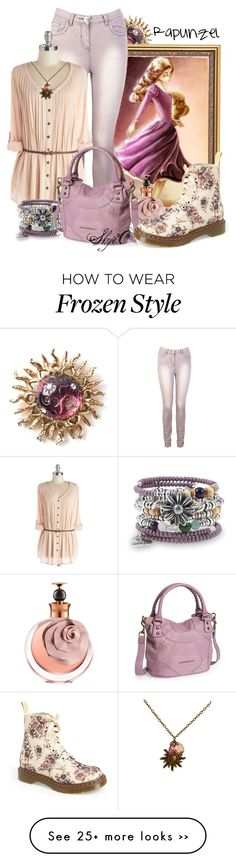 """Rapunzel - Spring - Disney's Tangled"" by rubytyra on Polyvore"