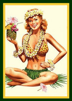 Karen uploaded this image to 'Betty Boop/Betty Boop Hawaiian'. See the album on Photobucket. Betty Boop, Hawaiian Girls, Vintage Hawaiian, Hawaiian Art, Johnny Depp, Tiki Art, Tiki Tiki, Vintage Tiki, Vintage Travel