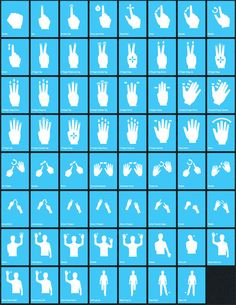 6 Multi-Touch Gesture Icon Sets - UI