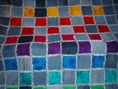 Image result for denim rag quilts