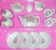 Rhode Island Novelty Toy Ceramic Tea Set, 13-Piece $4.80