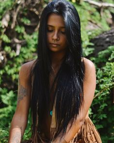 Mexican Native American Beauty / Native American woman - indigenous girls from America Native American Models, Native American Beauty, Native American Tribes, American Indians, American Indian Girl, Native Girls, Exotic Women, Native Indian, Native Art