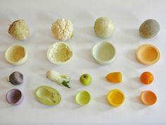 Mischer'traxler's 'Reversed Volumes' Bowls are Cast From Fruits and Vegetables MischerTraxler's Reversed Volumes bowls from vegetables – Inhabitat - Sustainable Design Innovation, Eco Architecture, Green Building