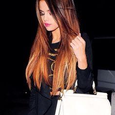 Selena Gomez ombré hair