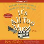 Listen to this audiobook while cleaning!  It will inspire you!