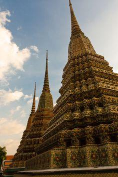 Chedi at Wat Pho   Bangkok, Thailand