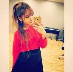 Jinny Park ♪ YG Trainee Ny Parks, Yg Trainee, Pop Bands, Girl Group, Denim Skirt, Turtle Neck, Kpop, Skirts, Sweaters