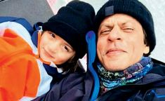 """Shah Rukh Khan and AbRam on a snowy mountain trail   Shah Rukh Khan and son AbRam  Shah Rukh Khan and AbRam are holidaying in Switzerland. Yesterday Gauri shared a photo of the father and son on Instagram and wrote """"Snowmen."""" SRK took to social media to say """"My li'l holiday with the li'l big skier... in the bed in the lift in the Alps... with him one does get more than one can ski (sic).""""  Shah Rukh Khan had fun time with son AbRamon their holiday. SRK and son even went skiingtogether. The…"""