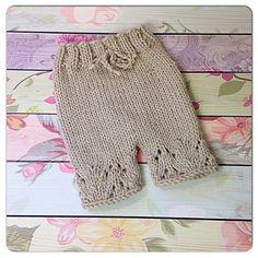 Ravelry: Lace Knit Shorties/Pants pattern by Shawna McKeage