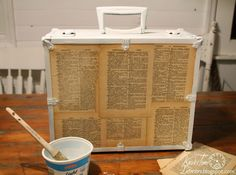 Repurposed Trunk Wall Cabinet by Knick of Time