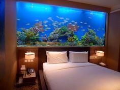 H20 Hotel Manila Philippines schlafzimmer wand