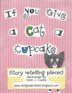 story retelling pieces (centers)