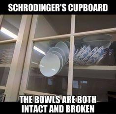 Schrodinger's Cupboard