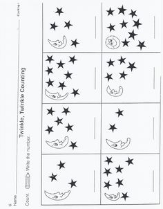 Outer Space Kindergarten Activities | Here are a bunch of masters, including outlines for pattern blocks.