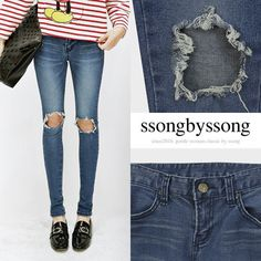 Sweet Day Soft Washed Skinny Jean