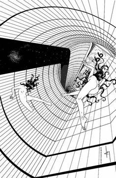 ArtStation - somewhere in space , Anto Finnstark