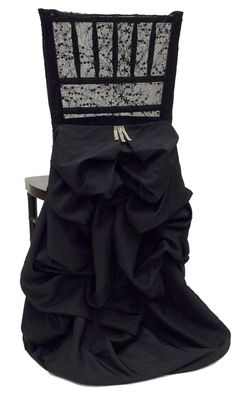 black with chantilly lace