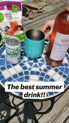 Liquor Drinks, Wine Cocktails, Cocktail Drinks, Cocktail Recipes, Easy Cocktails, Mix Drinks, Beverages, Drinks Alcohol Recipes, Mixed Drinks Alcohol