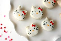 Hello Kitty French Macarons