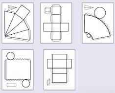 Ve školce děti začaly pracovat s geometrickými tělesy, tak jsem si říkala, že sem dám i nějaké další věci k téhle pomůcce.   Tak třeba tyh... Math For Kids, Fun Math, Math Games, Kindergarten Groundhog Day, Math Projects, Math Numbers, Origami Art, 3d Shapes, School Lessons