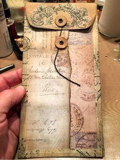 Résultats de recherche d'images pour « ideas for junk journal Junk Journal, Journal Paper, Art Journals, Vintage Journals, Handmade Journals, Handmade Books, Handmade Notebook, Handmade Crafts, Book Crafts