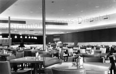 This September 1958 image shows the inside of the first S&W Cafeteria in Richmond. It opened in Southside Plaza in late August with seating for about 300, and entrée selections such as fried chicken, roast beef and breaded veal cutlet cost 55 to 60 cents. The cafeteria had about 60 employees. A second S&W was planned for the Willow Lawn shopping center.
