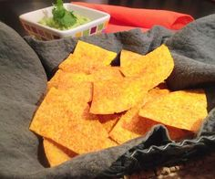 Spicy Homemade Tortilla Chips..... An Ivy Larson Recipe by:  Southern Girl Eats Clean