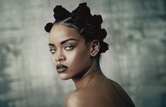 exclusive! rihanna's full cover shoot for the music issue   read   i-D    #photography #rihanna #fashion
