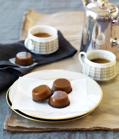 Chewy salted caramel chocolates