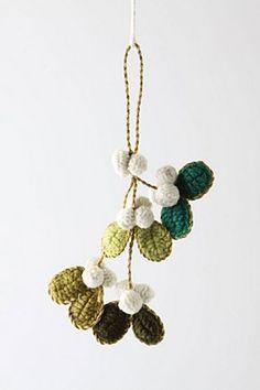 Crochet Mistletoe