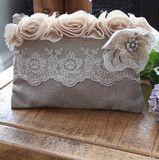 Silk Rose Vintage-Style Purse - So Pretty! x