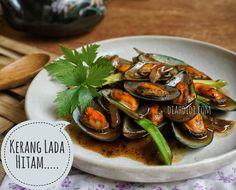 Diah Didi's Kitchen: Kerang Hijau Lada Hitam Green Mussels, Diah Didi Kitchen, Indonesian Cuisine, Indonesian Recipes, Asian Recipes, Ethnic Recipes, Asian Foods, Shellfish Recipes, Padang
