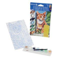 "Mini Paint By Number Kit 4-1/2""X7""-Kitten In The Field Reeves http://www.amazon.ca/dp/B007WDSMPI/ref=cm_sw_r_pi_dp_Me9tvb1J6NEBC"