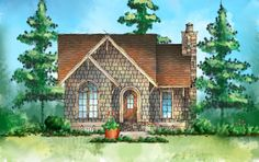 Itty Bitty Cottage House Plan - 26673GG | Architectural Designs - House Plans