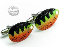Fishing Lure Cufflinks  by Cufflinks on Etsy, $29.99