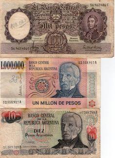 dinero de Argentina