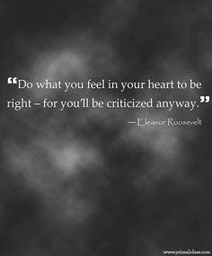 Quote - so true!