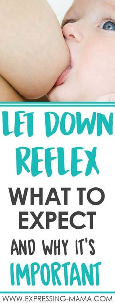Your breastfeeding let down reflex is an important to learn about. If you know what to expect from your milk let down you can prepare for any problems. New moms often experience a slow let down or even a fast let down. Both can cause problems when nursing your newborn baby. Click to read what you should prepare for and how to tackle any let down reflex problems. Understanding Your Let Down Reflex | Expressing Mama