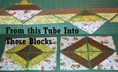 Heard of Tube Socks? Sure. Did you know Tubes also make Quilt Blocks? 2 Tube Quilt Videos & 1 Video, That's almost Magic!