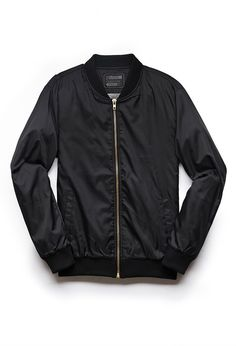 Classic Bomber Jacket | 21 MEN #21Men #BomberJacket