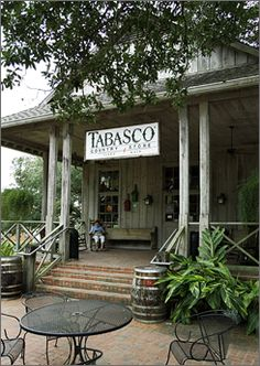 ~` the tabasco country store sells a variety of tabasco products at avery island la `~