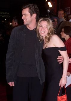 Jim Carrey & Renee Zellweger