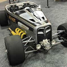 Hot Rods by Fuller built this all wheel drive roadster for Jet Hot Coatings, quite a car...