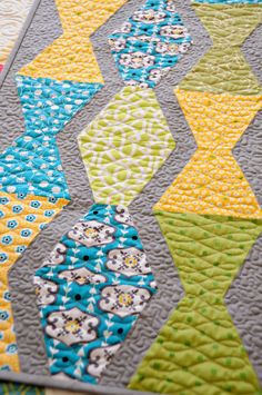 Love the idea for tumbler quilts and quilting from Anka's Treasures