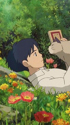 Art Studio Ghibli, Studio Ghibli Films, Totoro, Animes Wallpapers, Cute Wallpapers, Aesthetic Art, Aesthetic Anime, Aesthetic Pictures, Aesthetic Clothes