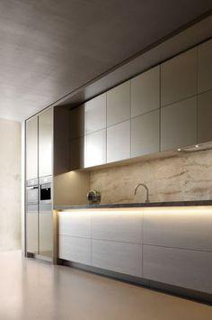 New light natural wood kitchen interior design ideas Luxury Kitchen Design, Contemporary Kitchen Design, Luxury Kitchens, Interior Design Kitchen, Modern Interior Design, Home Kitchens, Classic Interior, Modern Contemporary, Modern Boho