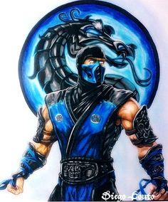 Sub Zero Mortal Kombat ❤ http://comicbook.space/